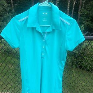 Adidas golf shirt.